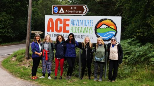 The ACE Adventures yoga retreat Scotland in 2018
