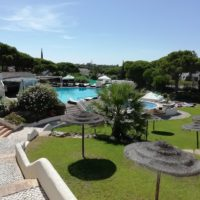 Pool and gardens at Hide resort in Vale Do Lobo, Algarve