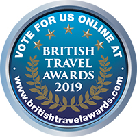 Vote for us at the British Travel Awards 2019 #voteBTA19