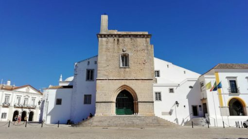 The main cathedral in Faro, Algarve, Portugal