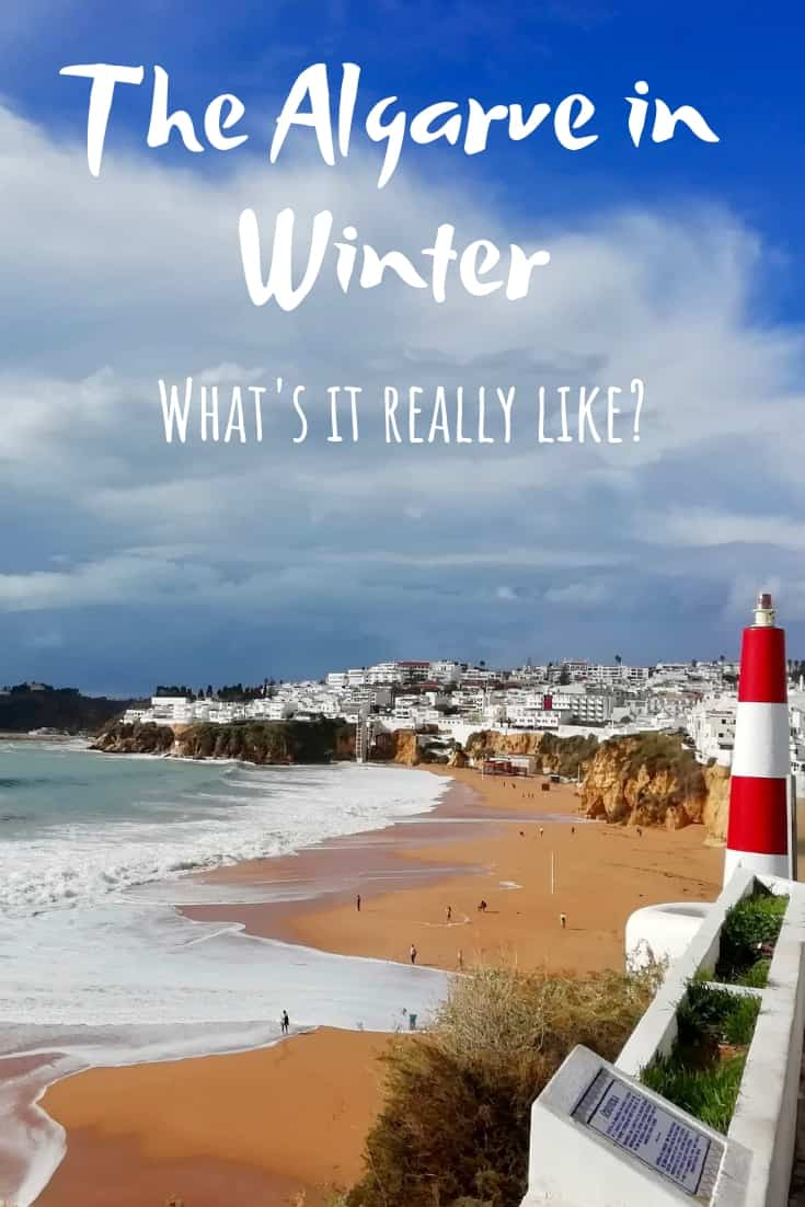The Algarve in Winter Pinterest Pin