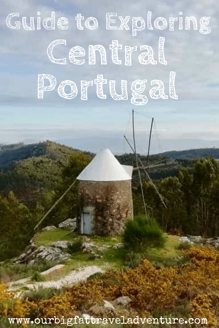 Exploring Central Portugal Pinterest Poster