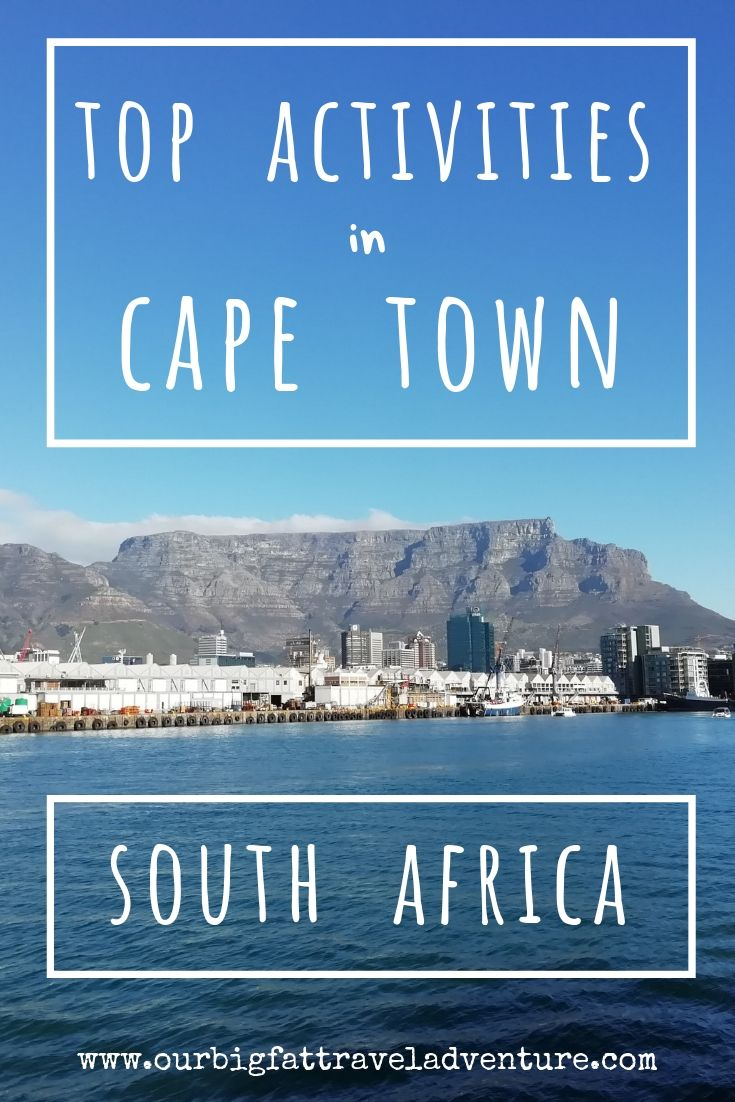 Top Activities in Cape Town South Africa