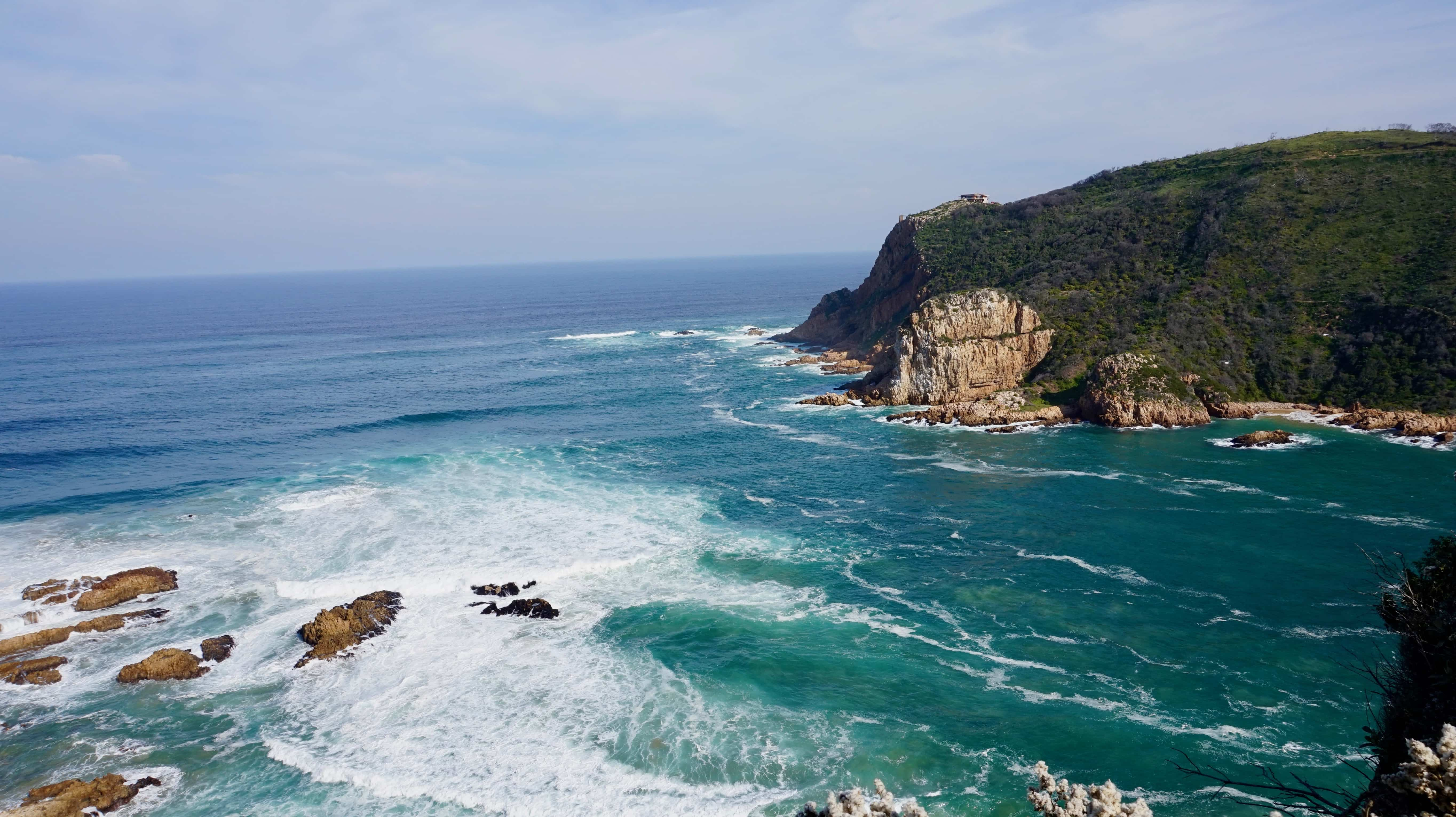 Knysna Heads from East Point