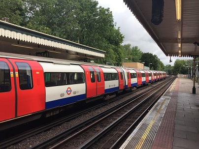 Getting around London by Tube