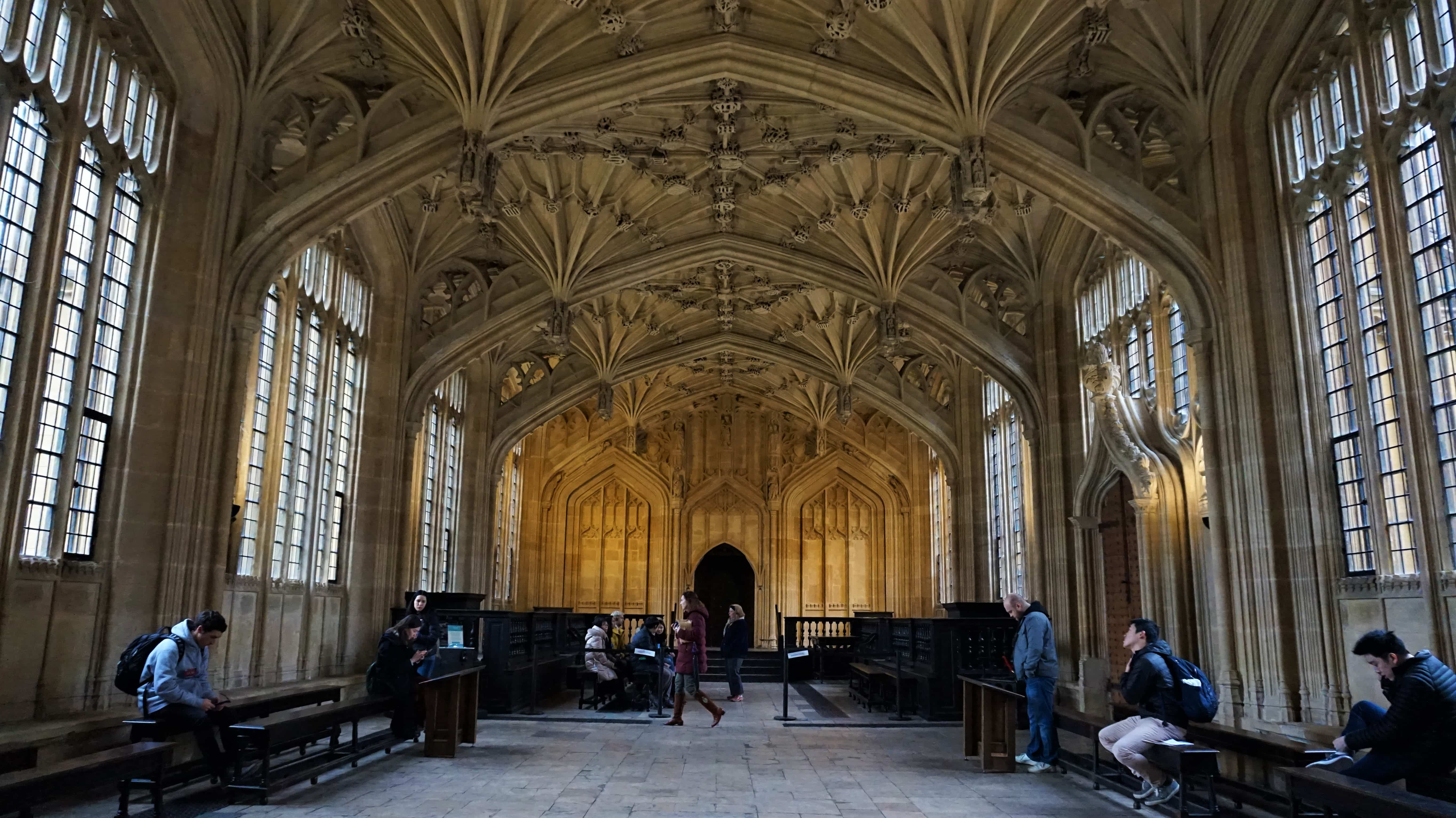 The Divinity School in Oxford