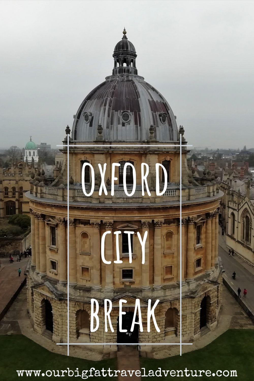 Oxford City Break Pinterest Pin