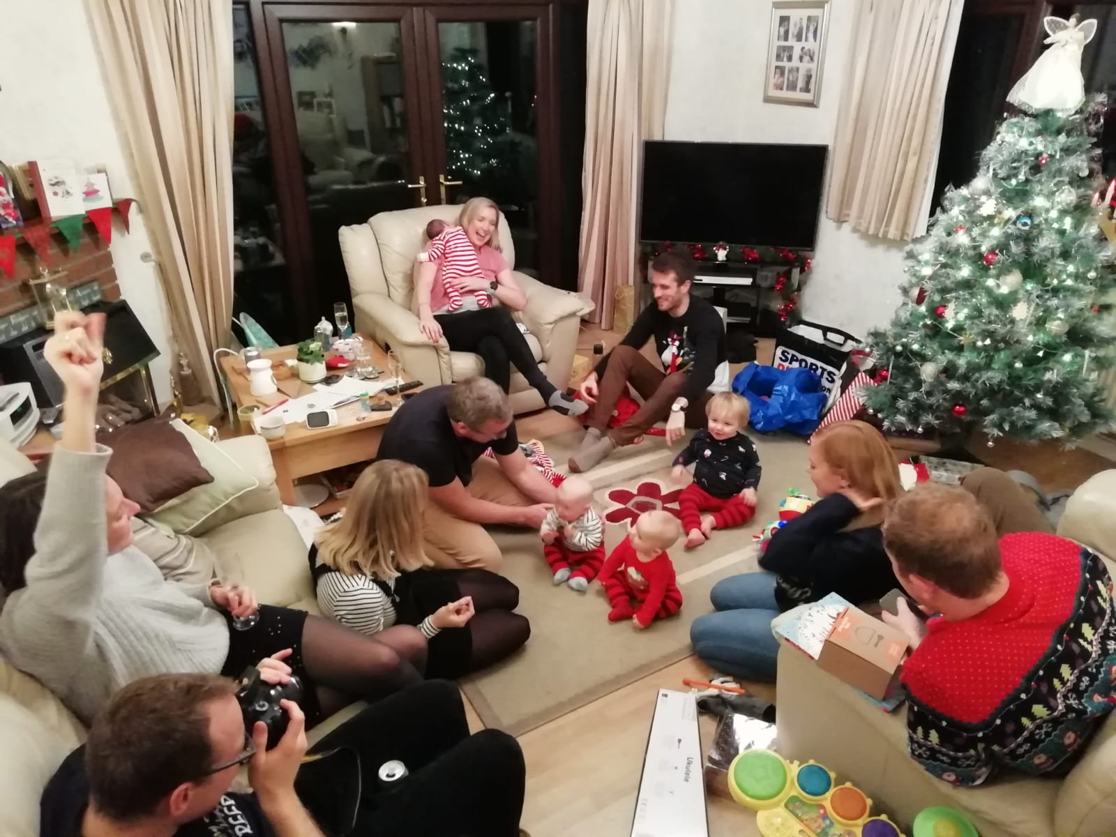Andrew's family Christmas