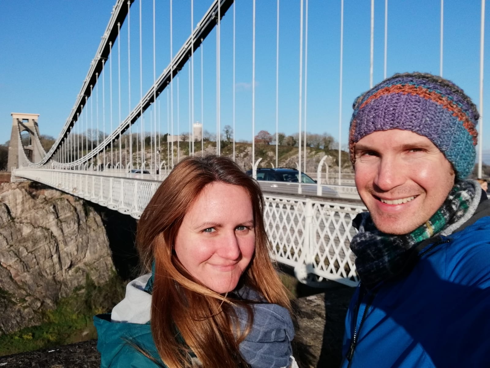 Us at Clifton Suspension Bridge, Bristol