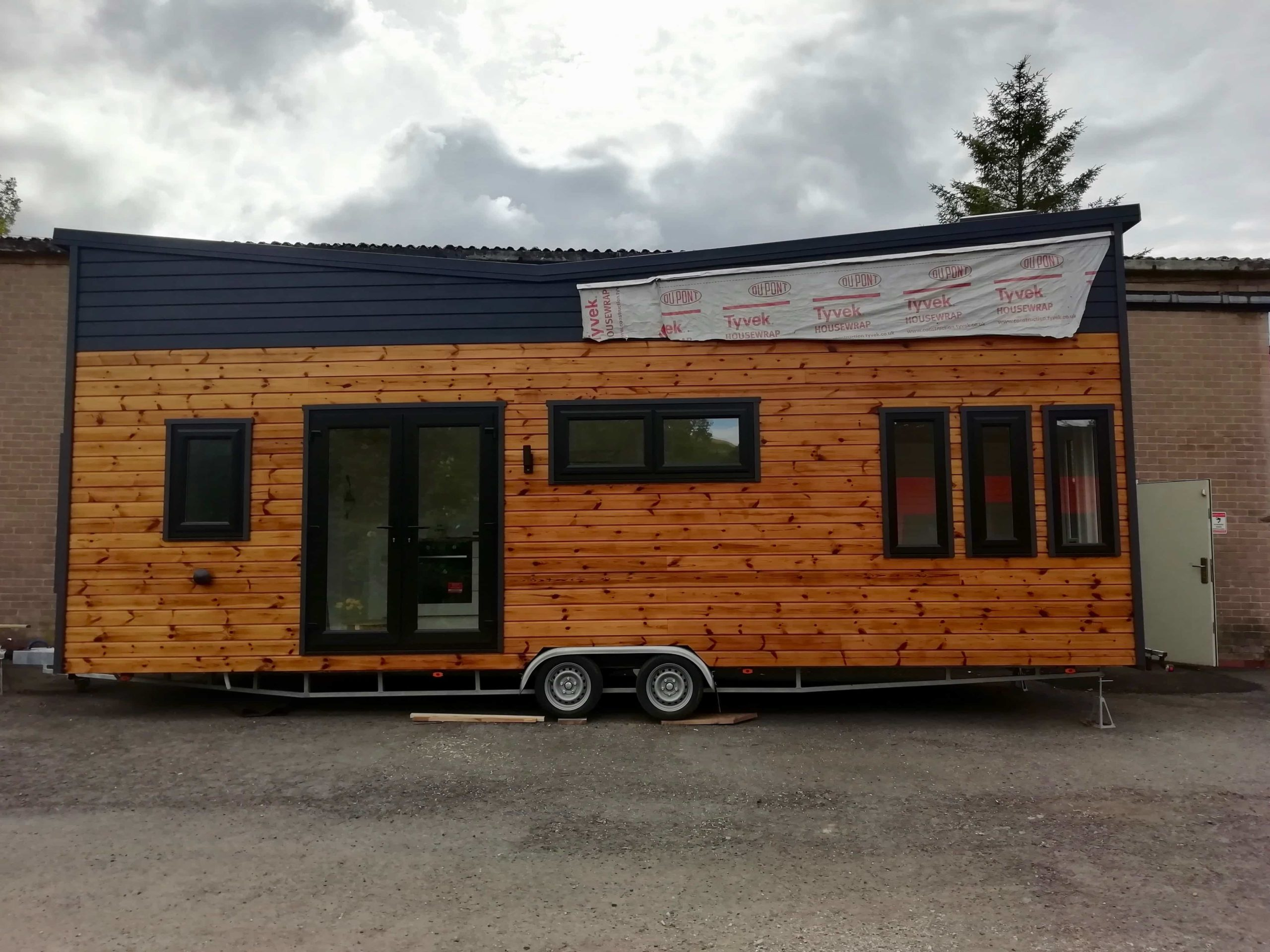 Tiny House being built in Yorkshire